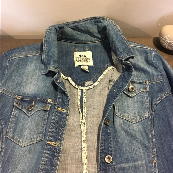 Mango Jackets & Blazers - Mango jeans jacket